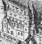 Výřez zkresby J.D.Hubera zr. 1769.